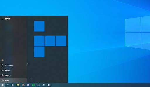 Windows power button