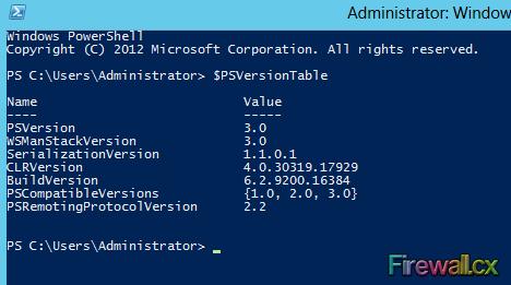 Windows PowerShell 3.0