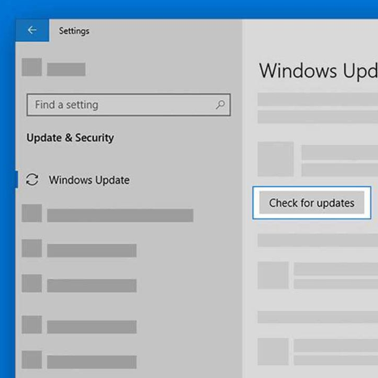 Windows update issues fixed