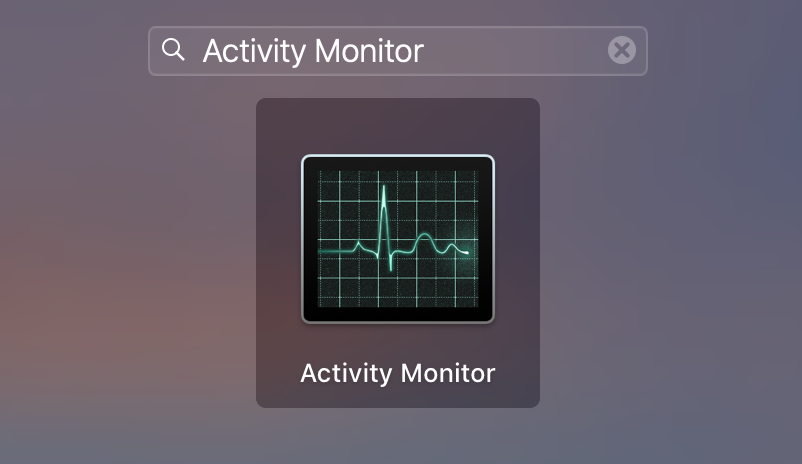 luanchpad activity monitor