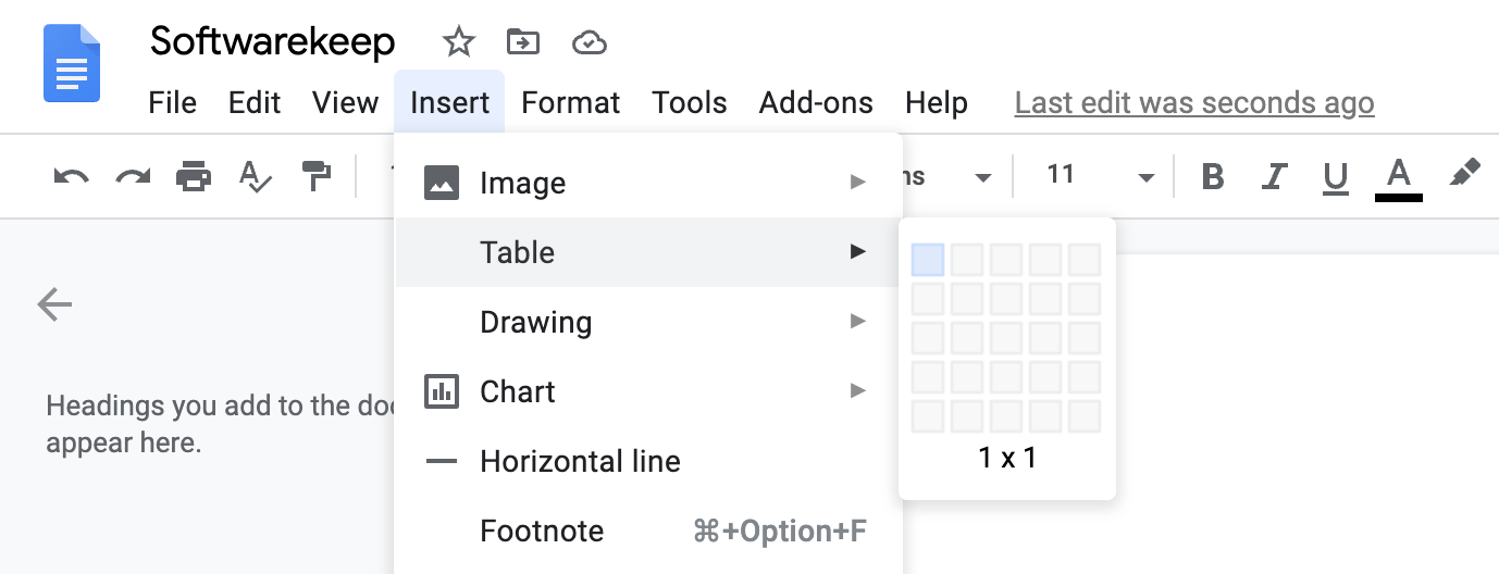 how to add a border in google doc