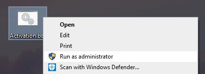 run file as administrtor
