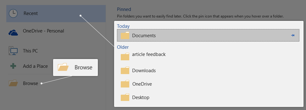 How to save a word document