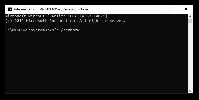file system checker