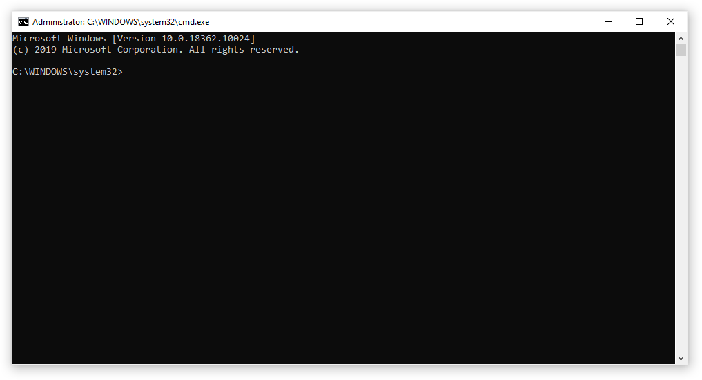rebuild icon cache through cmd