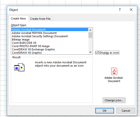 How to Insert Pdf into Excel