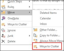 Clutter Folder in Outlook