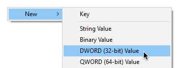 How to chage dword values