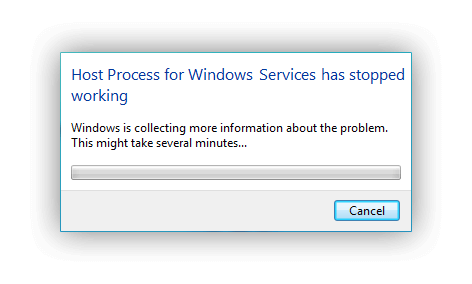 Host process for windows