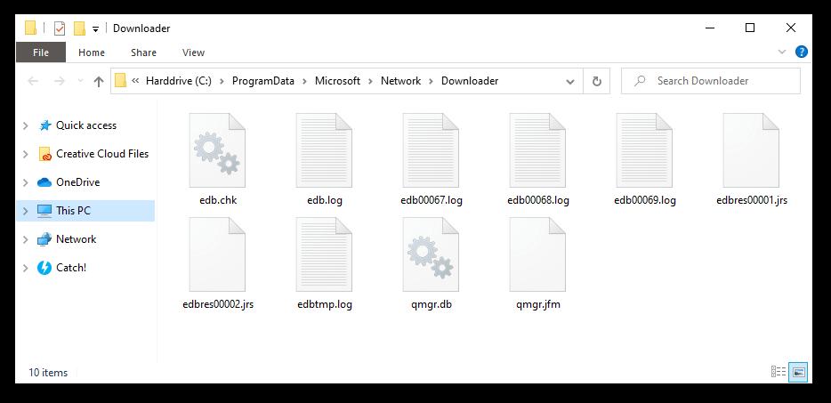 Repair corrupted Bits Files