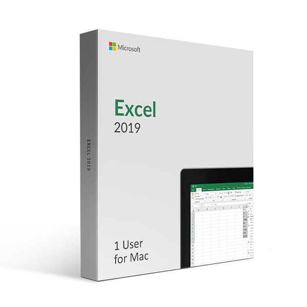 Excel 2019 for mac