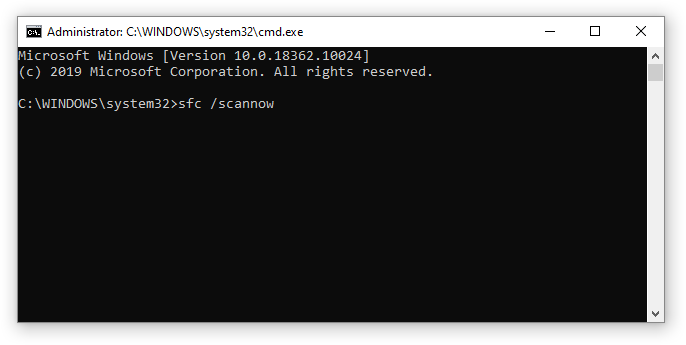 How o run system file checker