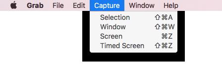 how to use grab to take screenshots