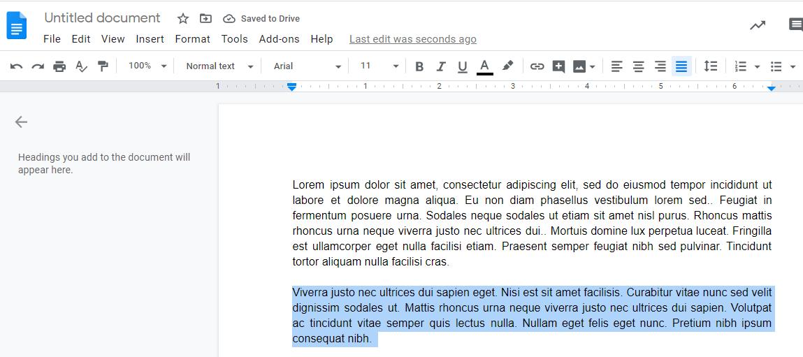 multiple paragraphs