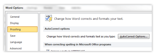 How to turn off AutoCorrect in Microsoft Word