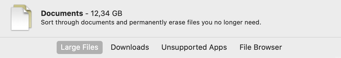 reduce clutter on mac