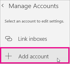How to set up email on windows phone
