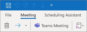 How to schedule meetings in outlook