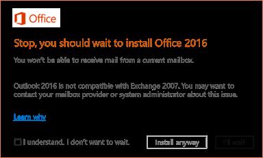 common errors when upgrading office