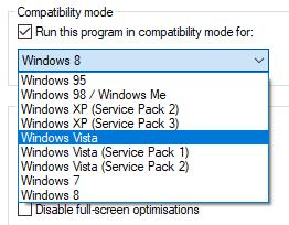 check compatibility mode