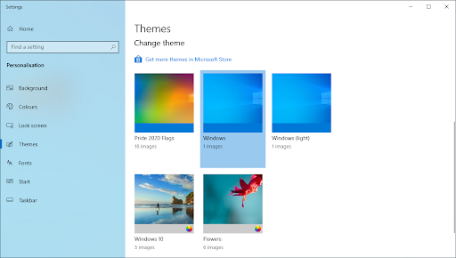 Use Themes