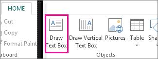 Add a Text Box