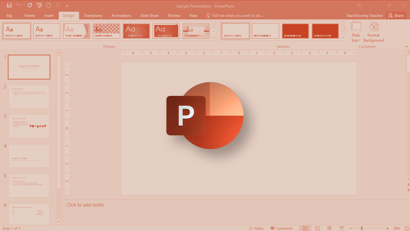 Powerpoint: How to change the font on all slides together