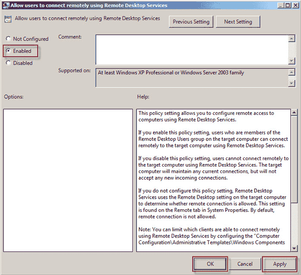 how to disable group policy