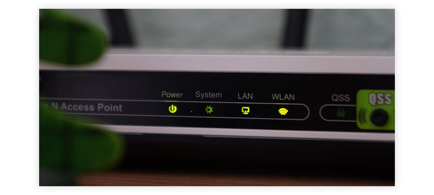 Reboot your router