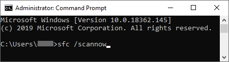 How to scan your computer through command prompt