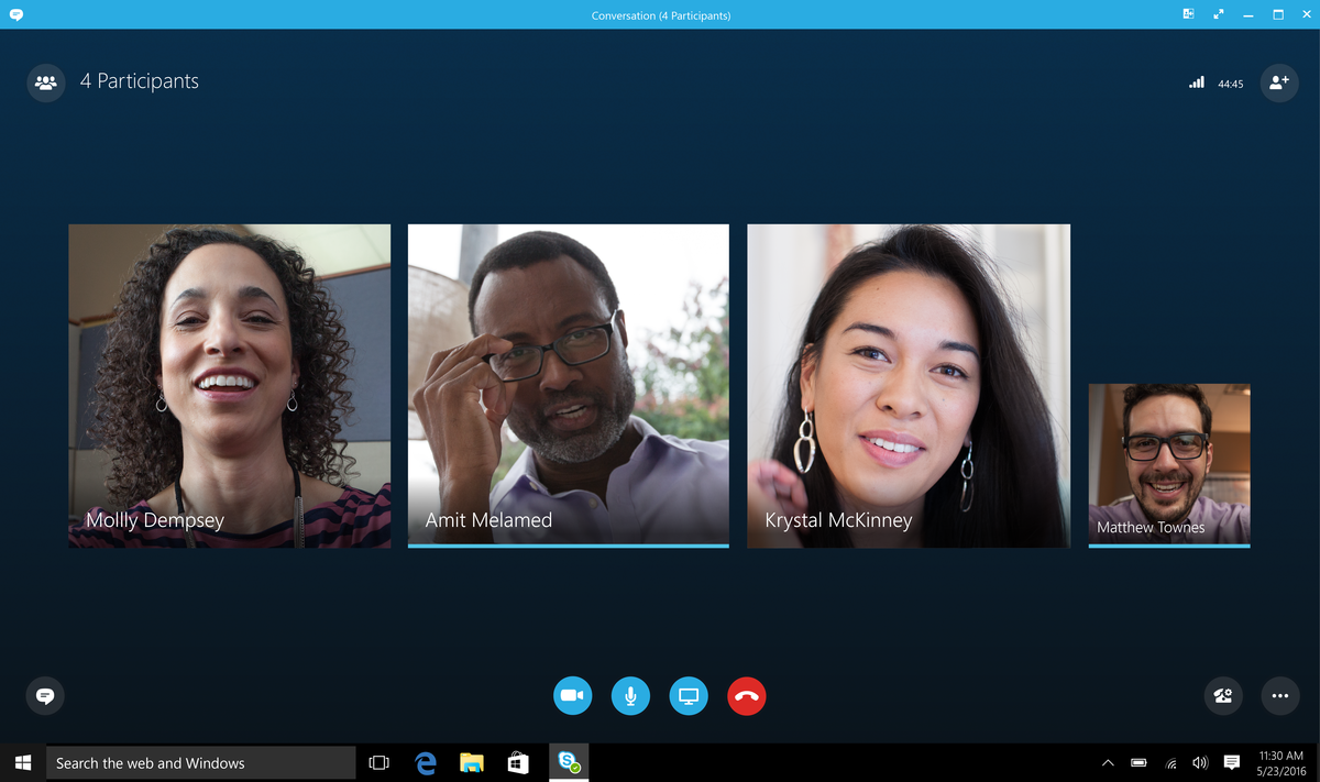 Skype for business features