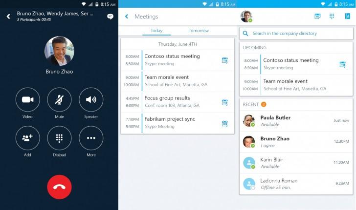Skype online meetings