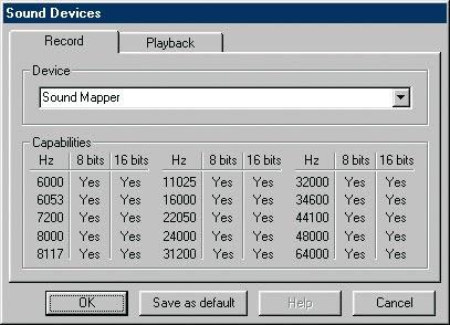 Microsoft sound mapper