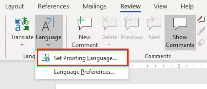 check languages