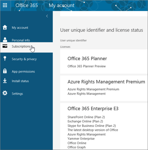 How to check if your office 365 subscription is active