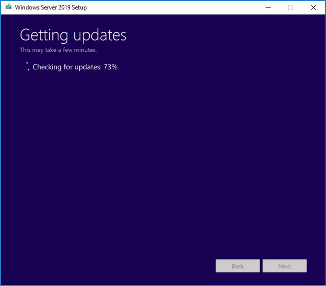 getting updates