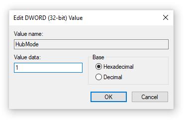 change value data