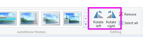 fix video rotation problem