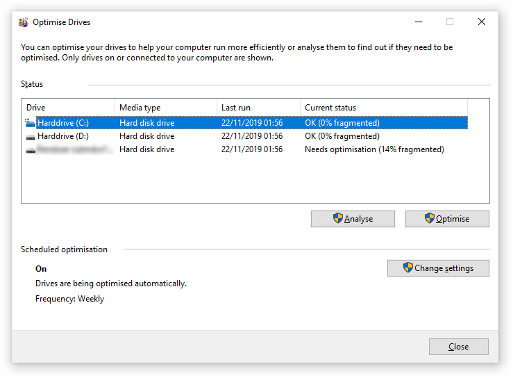 How to defragment your hard disk