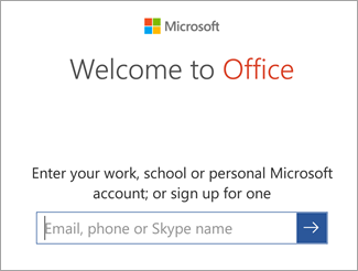 How to set up Office On android