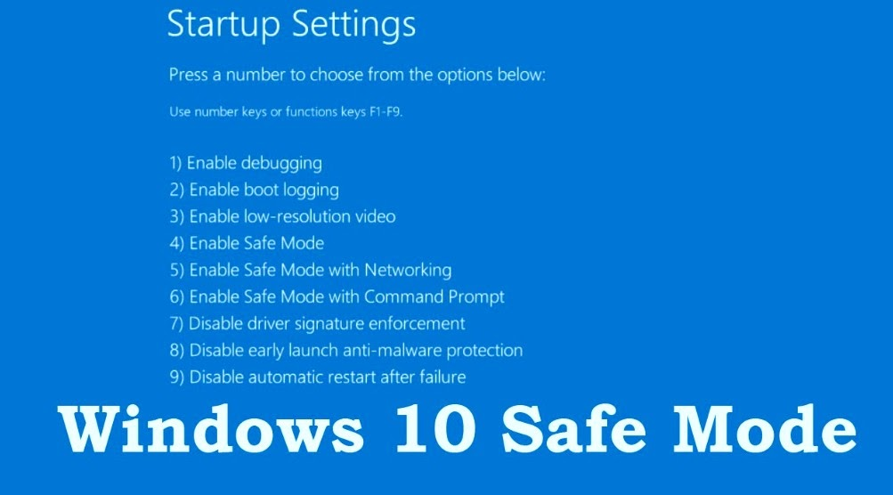 How to boot windows in Safe mode