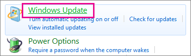 Windows Update errors on Windows 7