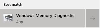 Windows diagnostics