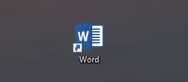 How to find and replace text in word.